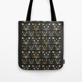 TRICKY CATS Tote Bag