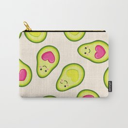 Avocado love seamless pattern Carry-All Pouch