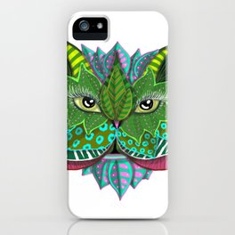 Nature Face iPhone Case