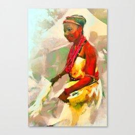 Ada Ada [Igbo Bride] Canvas Print