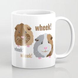 Wheek Wheek Guinea Pigs Coffee Mug