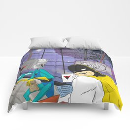 Space Ghost Coast to Coast Comforters