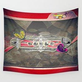 Rosas-Roses 6 Wall Tapestry