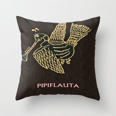 PIPIFLAUTA Throw Pillow