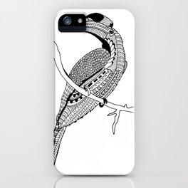 Hornbill iPhone Case