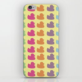 Duckies iPhone Skin