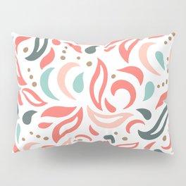 Coral Fest Pillow Sham