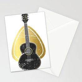 Mediator Bass Guitar Stationery Cards
