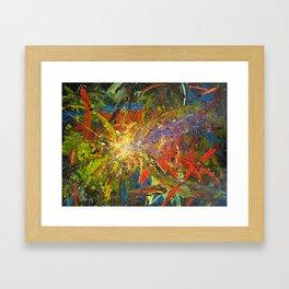 your unexpected cosmic jolt Framed Art Print