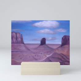 Scenic Monument Valley Mini Art Print