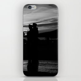solider sunset - 2 iPhone Skin
