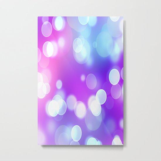 Bright Dots Metal Print