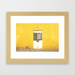 Amarillo Door #2 Tala, MX Framed Art Print