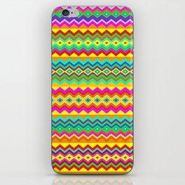 Aztec Summer colors Beach Towel iPhone Skin