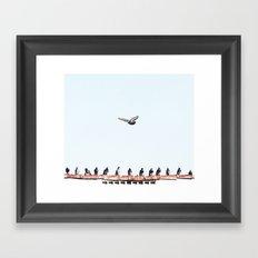 Bombs Away Framed Art Print