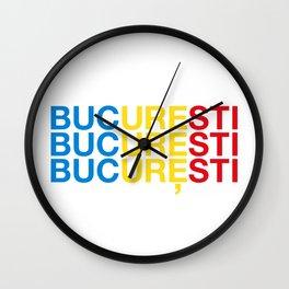 BUCHAREST Wall Clock