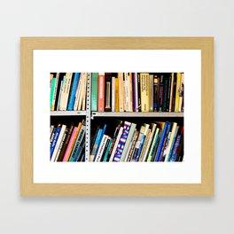 Books, Books and More Books Framed Art Print