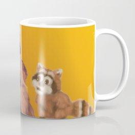 Raccoon Series: What's Going On? Coffee Mug