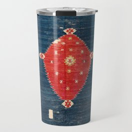Balikesir  Antique Turkish Kilim Rug Print Travel Mug