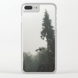 // reticent // Clear iPhone Case