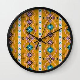 Boho Basic 3 Dandelion Wall Clock