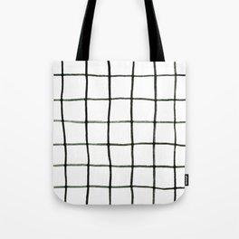 Grid Tote Bag