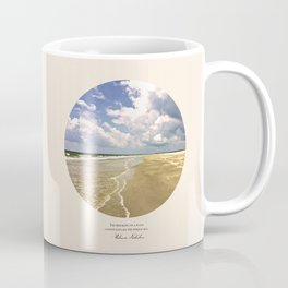 The Breaking of a Wave Coffee Mug