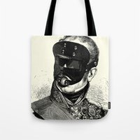 bdsm Tote Bags featuring BDSM XXVIII by DIVIDUS