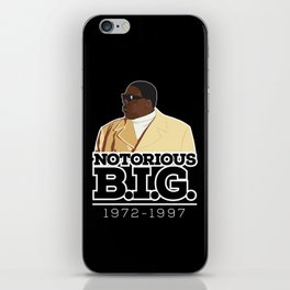 Christopher 'Notorious B.I.G.' Wallace iPhone Skin