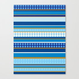 hanukkah wrap Canvas Print