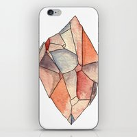 crystal iPhone & iPod Skins featuring Crystal  by Matt Smith