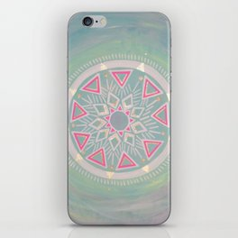 Mandala Clarity, Focus, Awareness iPhone Skin
