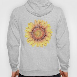 Swirly Sunflower Hoody