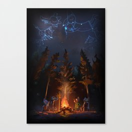 Night In The Woods Fanart Videogame Canvas Print