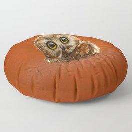 The Owls Eyes Floor Pillow
