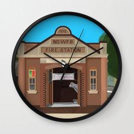 Kiama Fire Station Historic Architecture Wall Clock