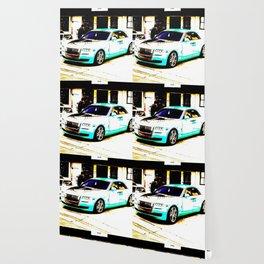 Rolls R. Light blue Wallpaper
