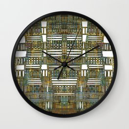 LAY OUT 01 Wall Clock