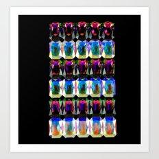 Aurora Stoned Art Print