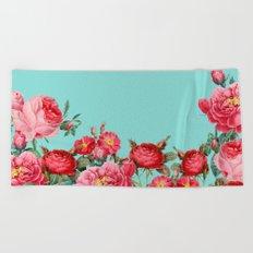 Fab Floral Beach Towel