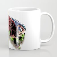 megaman Mugs featuring Die Megaman Die by Sidsoot