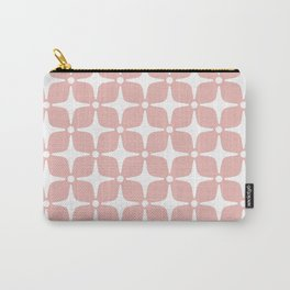 Mid Century Modern Star Pattern Dusty Rose 2 Carry-All Pouch