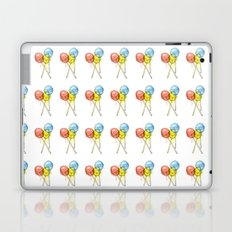 Lollipop Red Blue Yellow Candy Food Watercolor Laptop & iPad Skin