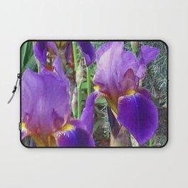 Purple Iris Laptop Sleeve