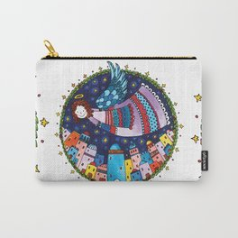 Holy night > Angel Carry-All Pouch
