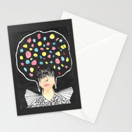 lady four Stationery Cards