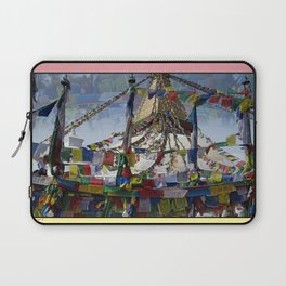 NEPALI PRAYERS CARRIED BY THE WIND FROM FLAGS Laptop Sleeve