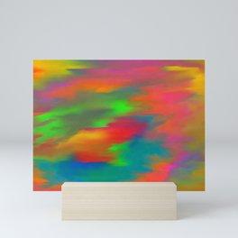 Lucid  rainbow Mini Art Print