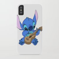 stitch iPhone & iPod Cases featuring Stitch by Christa Morgan ☽