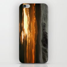 Winter Shorebreak at Sunset iPhone & iPod Skin